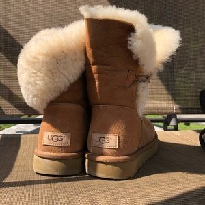 Brown Bailey Button Uggs Ugg Boots